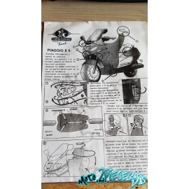 Protection de jambe Tablier Biondi Piaggio X9